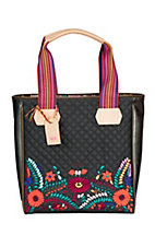 Consuela Venice Floral Embroidered Classic Tote
