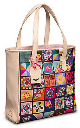 Consuela Allison Patches Classic Tote