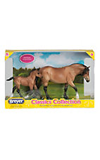 Breyer Bay Dartmoor Pony & Light Bay Foal