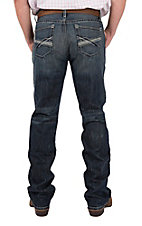 Cinch Men's Ian Dark Wash Slim Boot Cut Jeans
