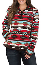 Outback Trading Company Women's Aztec Fleece Dawn Pullover