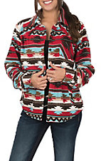 Outback Trading Company Cavender's Exclusive Women's Fleece Dawn Big Shirt