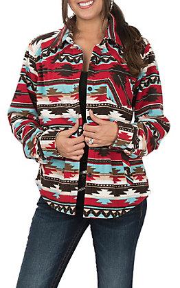 42efdb1ef2 Outback Trading Company Cavender s Exclusive Women s Fleece Dawn Big Shirt