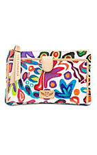 Consuela Legacy White Swirly Slim Wallet