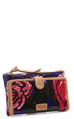 Consuela Royal Floral Slim Wallet