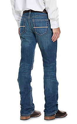 Cinch Men's Ian Dark Wash Slim Fit Boot Cut Jeans - Cavender's Exclusive