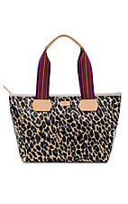 Consuela Blue Jag Shopper Tote