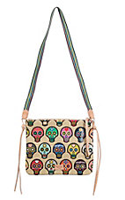 Consuela Legacy Sugar Skull Crossbody Purse