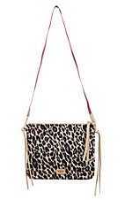 Consuela Legacy Blue Jag Crossbody Purse