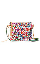 Consuela White Swirly Crossbody