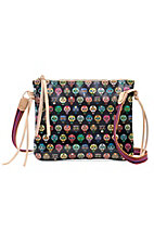Consuela Tiny Skulls Crossbody Purse