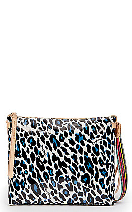 Consuela Lola Leopard Print Downtown Crossbody Purse
