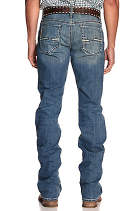 Cinch Men's Ian Light Wash Slim Fit Bootcut Jeans