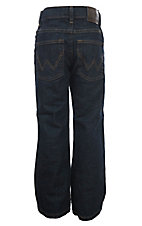 Wrangler Boys Dark Prewash Relax Boot Cut Jeans (Sizes 4-7)