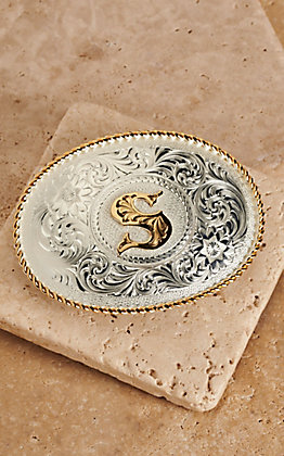 Montana Silversmiths Silver with Gold Oval