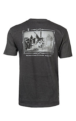 Cowboy Hardware Men's Charcoal Grey All Things Are Possible S/S T-Shirt