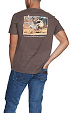 Cowboy Hardware Men's Brown I Am About to Fall S/S T-Shirt
