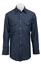 Wrangler Rigid Denim Long Sleeve Workshirt- Neck & Sleeve Sizes