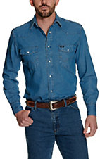 Wrangler Denim Long Sleeve Workshirt 70127SWA