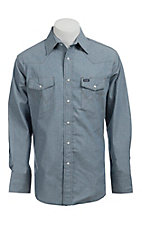 Wrangler Chambray Long Sleeve Workshirt