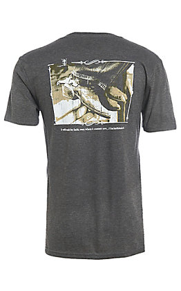 Cowboy Hardware Men's Walk by Faith Short Sleeve T-Shirt