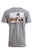 Cowboy Hardware Men's Heather Grey I Can Do All Things S/S T-Shirt