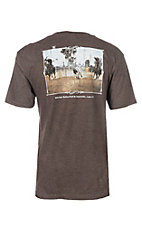 Cowboy Hardware Men's Brown Nothing Is Impossible S/S T-Shirt