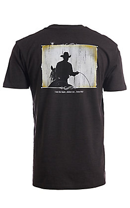 Cowboy Hardware Men's Heather Grey I Am The Light S/S T-Shirt