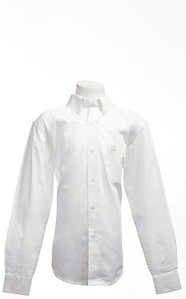 Cinch L/S Boy's Solid Fine Weave Shirt 7060031