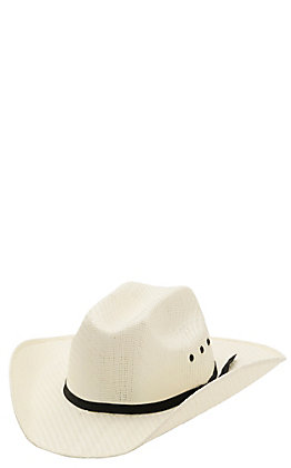 Twister Youth Natural Sancho Low Straw Cowboy Hat