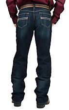 Cinch Carter 2.2 Dark Stonewash Mid Rise Relaxed Fit Boot Cut Jean 71934003