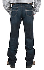 Cinch Men's Dark Wash Relaxed Fit Open Pocket Boot Cut Jeans
