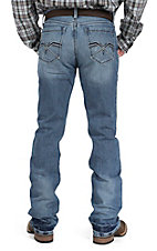 Cinch Men's Light Wash Ian Mid Rise Slim Fit Boot Cut Jean 72336002