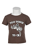 Cowboy Hardware Boy's Brown Too Tough S/S T-Shirt