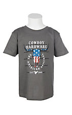 Cowboy Hardware Toddler Charcoal Graphic S/S T-Shirt