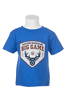 Big Game Toddler Royal Short Sleeve T-Shirt