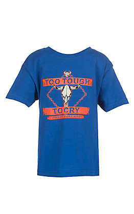 Cowboy Hardware Boys Too Tough Long Sleeve T-Shirt