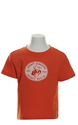 Cowboy Hardware Toddlers' Orange Bronco Bust'n Short Sleeve T-Shirt