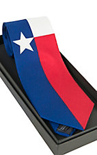 Texas Flag Silk Tie