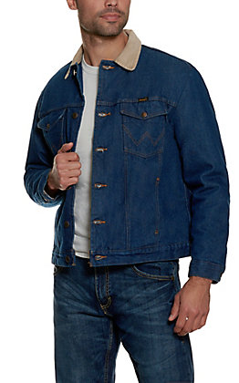 Wrangler Blanket Lined Prewashed Denim Jacket