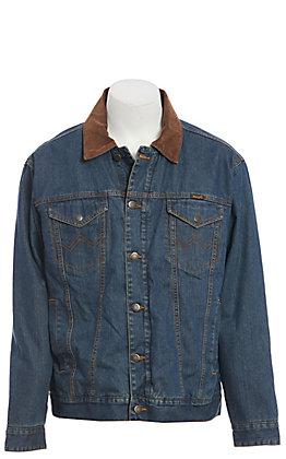 Wrangler Men's Blanket Lined Denim Jacket