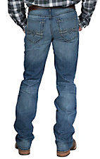 Cinch Men's Medium Wash Ian Mid Rise Slim Fit Boot Cut Jean 74436001