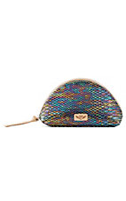 Consuela Sirena Mermaid Medium Dome Cosmetic Bag