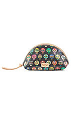 Consuela Tiny Medium Skulls Cosmetic Bag
