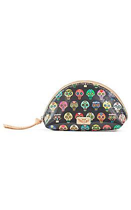 Consuela Tiny Medium Skulls Cosmetic Bag