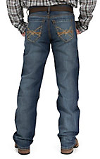 Cinch Men's Medium Wash Grant Mid Rise Relaxed Fit Boot Cut Jean 75237002