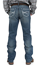 Cinch Men's Light Wash Ian Mid Rise Slim Boot Cut Jean 75336001