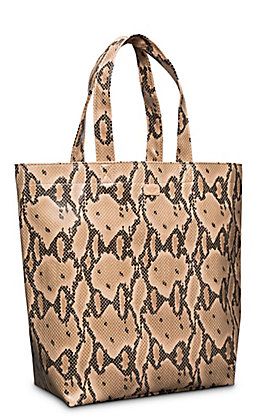 Consuela Margot Brown Snake Grab N Go Basic Tote