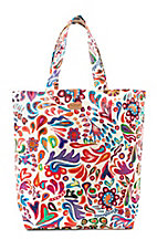 Consuela White Swirly Basic Bag