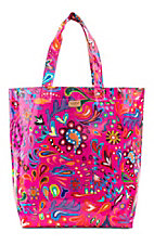 Consuela Pink Swirly Basic Bag